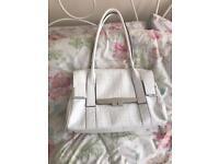 Fiorelli handbag in white, good condition.