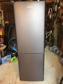 Samsung frost free fridge freezer in aluminium