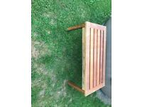 Teak garden coffee table