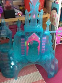My little pony ice castle