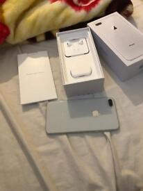 iPhone 8 Plus silver 64 gb unlocked