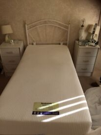Memory foam single bed