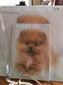16 month Calendar and diary brand new