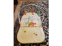 Baby changing mat with arch.