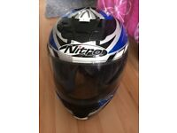 Like new motorcycle gear helmet/trousers/jacket/boots and gloves