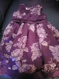 Moonson dress 18 months 2 years purple