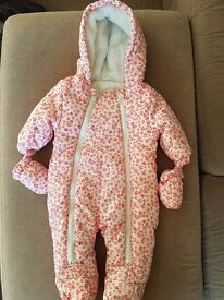Girls cosy all-in-one suit