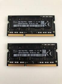 Memory - iMac (2015) 8GB (2 x 4GB)