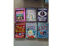 Selection of books by Jacqueline Wilson