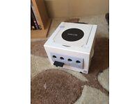 White Nintendo GameCube console