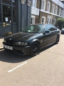 BMW 3 series 52plate 2002 330ci M Sport Black, MOT APR-19 HPI Clear