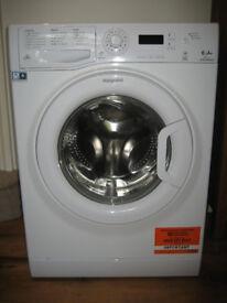 Hotpoint washing machine 6kg 1400 spin under warranty