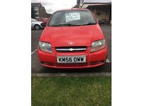 For sale! Chevrolet Kalos 1.2 petrol 5door £450 ono