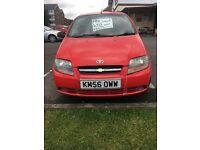 For sale! Chevrolet Kalos 1.2 petrol 5door £350 ono