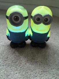 Minion battery operated lights