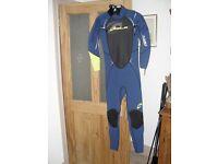 Men' wet suit