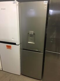 DAEWOO RN37DS 60/40 Fridge Freezer - Silver