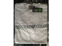 T-Shirt Emporio Armani Size M White