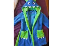 Boys dressing gown 2-3 years