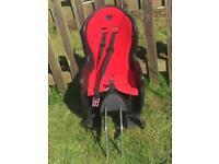 Hamax rear mounted child seat