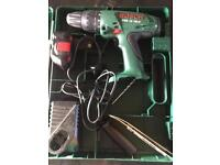 Bosch cordless drill used once