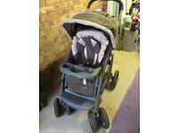 Graco Fast Action Folding Pram Pushchair Stroller