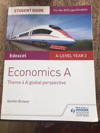 Economics A Theme 4 - A Level - Edexcel Textbook
