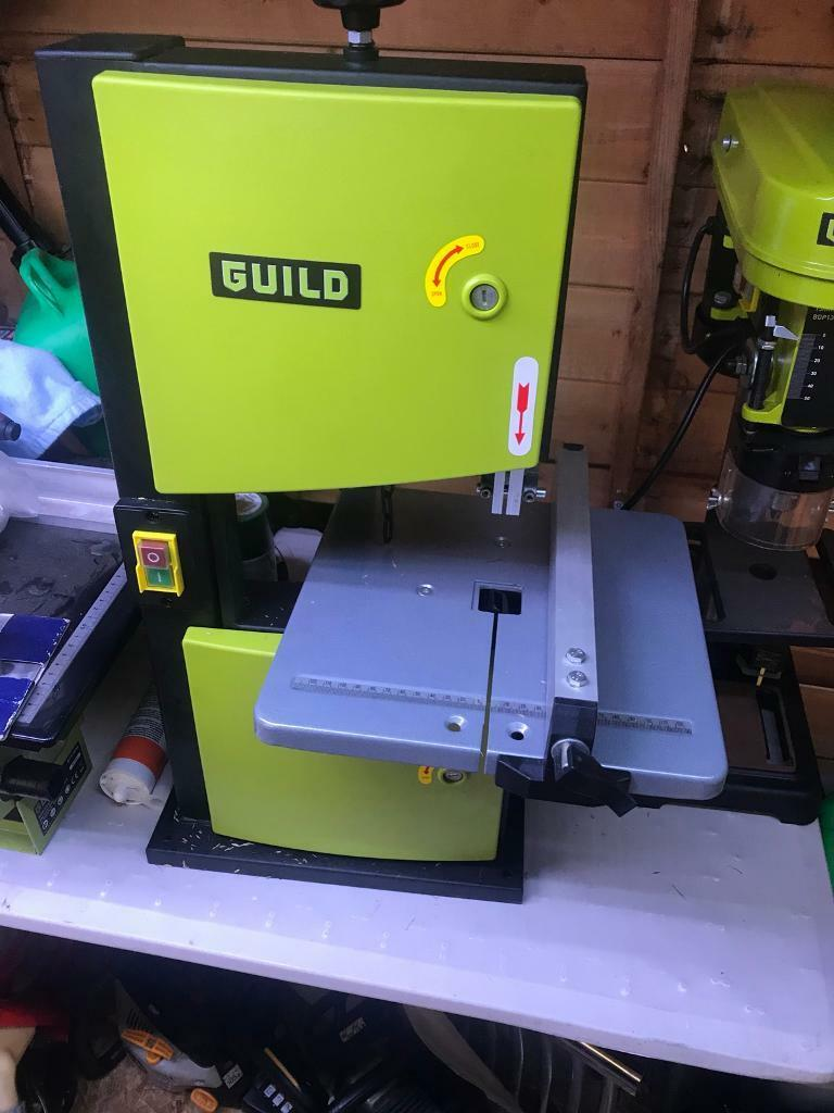 Guild band saw new never used