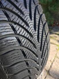Goodrich winter tyres Size: 195 55 R16 87