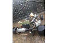 Very nice go kart 200cc very fast and powerful manual gears and clutch like car take a look