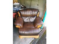FREE 2 leather armchairs