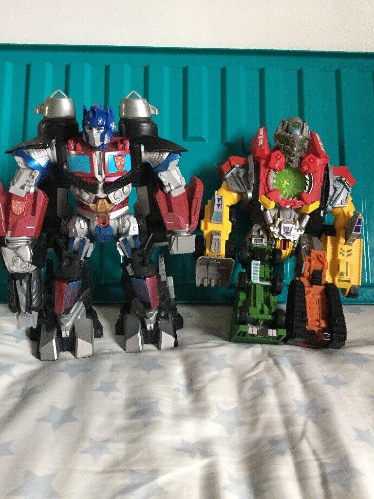 Various Transformers Figures