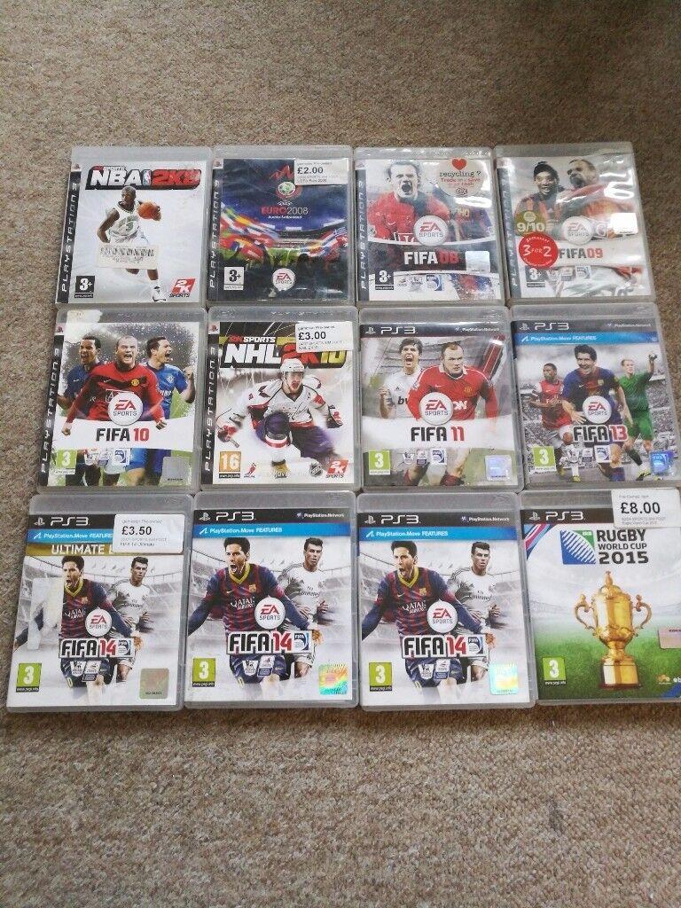 Ps3 games. Sport.