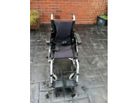 karma lightweight transport wheelchair