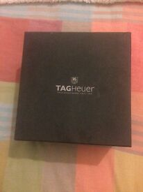 Tag Watch/TagHeuer mans watch. Like new, bought recently and only worn for special occasion.