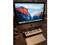 "Apple Imac 20"" 2009 with studio equipment/Software"