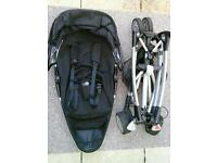 Quinny Zapp Xtra- Comes with raincover, basket, cosy toes and parasol
