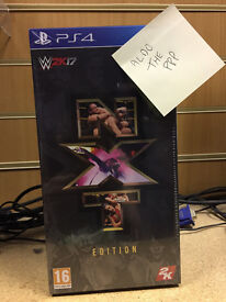 PS4 WWE 2K17 Limited Edition NXT Game New Sealed UK version - Hard to Find!