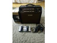BOSS Acoustic singer Live Amp/FS-6 footswitch