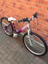 "RALEIGH GIRLS BIKE 24"" wheels size Bargain"