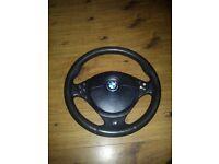 Bmw 5series 7 series m sport steering wheel