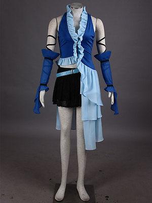 FF X-2 Final Fantasy Yuna Lenne Cosplay costume Kostüm Songstress Sängerin