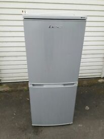 LEC T5039S 50/50 Fridge Freezer - Silver