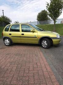 Vauxhall Corsa 12 months MOt