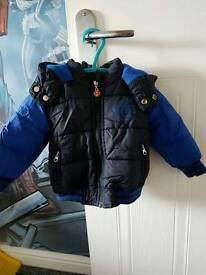 Boys Levi Coat
