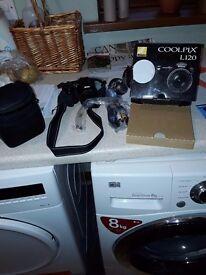 Nikon coolpix digital l 120 camera