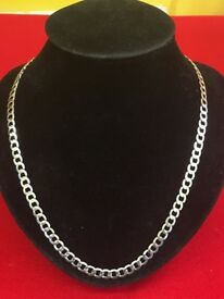 Italy sterling silver necklace