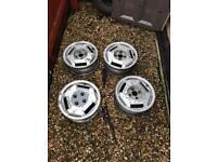 Toyota mr2 mk1 alloy wheels