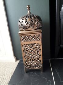 Moroccan lamp/ candle holder