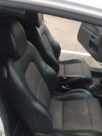 White Ford Fiesta Ztec S 1.6tdci